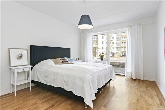 Sovrum. Bild från liknande lägenhet