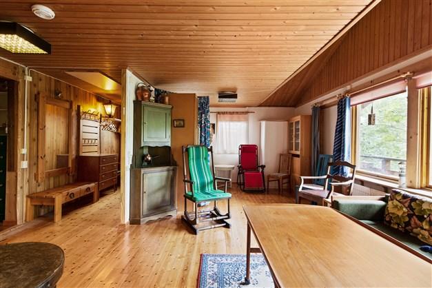 Vardagsrummet och hallen