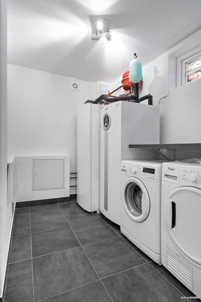 Tvättstuga/pannrum källarplan