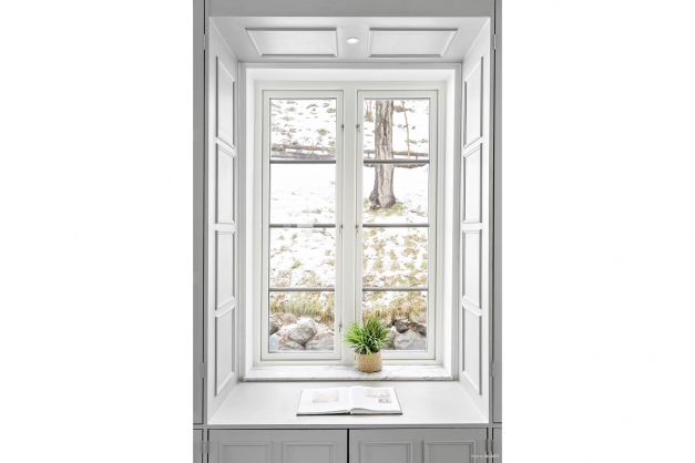 Fönster i nisch