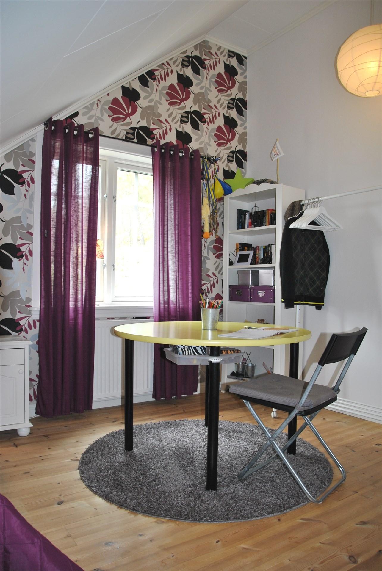 Möjlighet finns att ta med väggen mellan sovrum 4 och 5, för exempelvis ett all-/TV-rum
