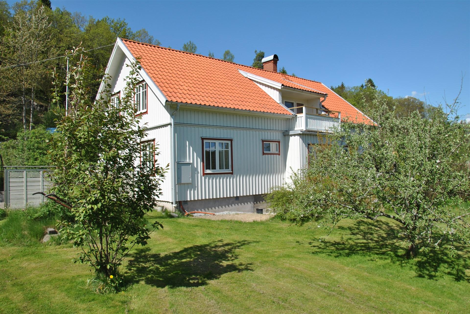 Huset med balkongen i sydost