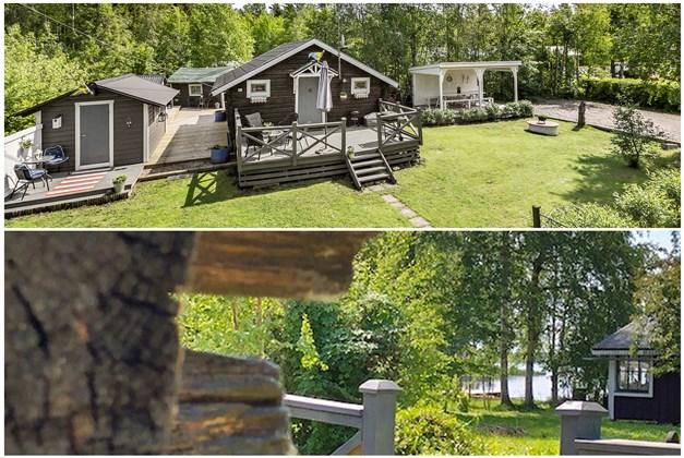 Välkommen till Åholmsbryggan 15, härlig utsikt mot sjön Tisaren