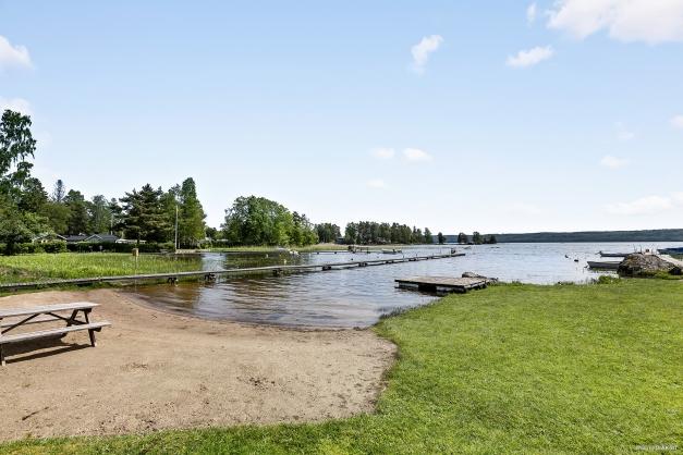 Områdets gemensamma badplats