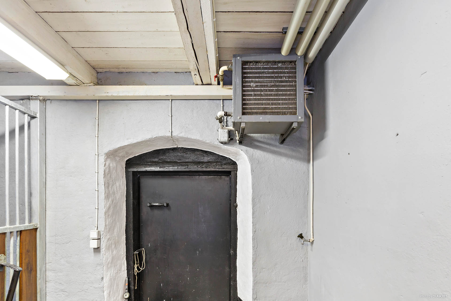 Värmesystem i stora stallet