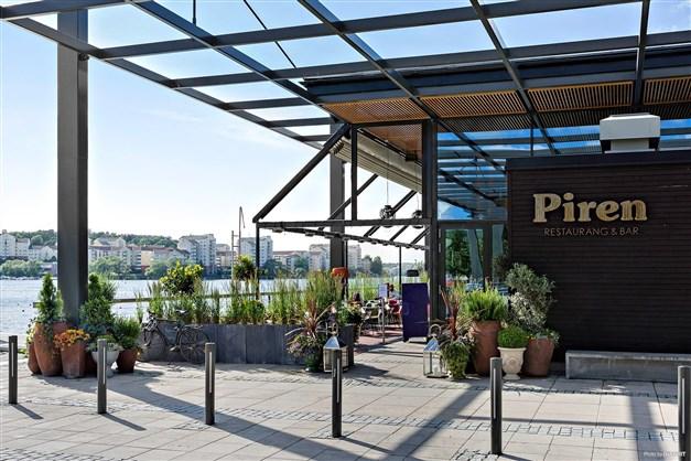 Restaurang Piren vid Hornsbergs Strand
