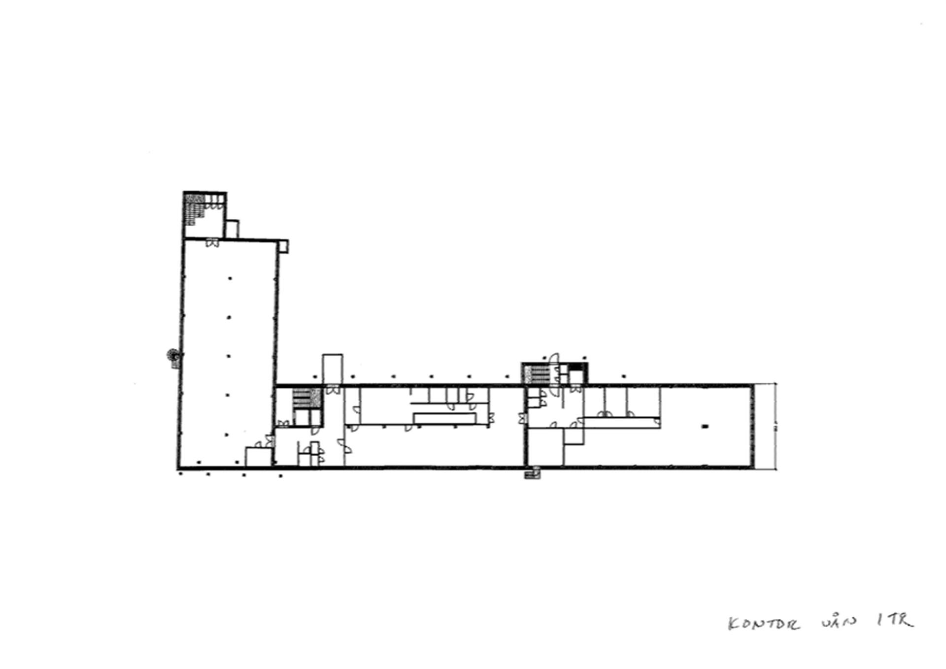 Våning 1 tr kontor