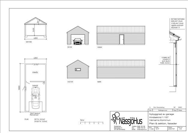 Förslag på garage