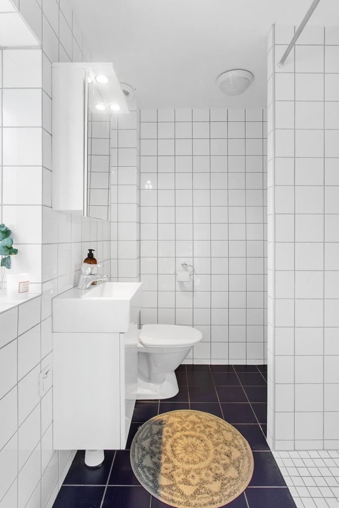 Helkaklat badrum från 2014.