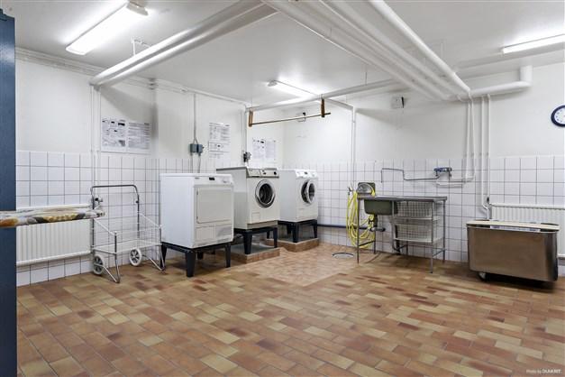 Föreningens tvättstuga