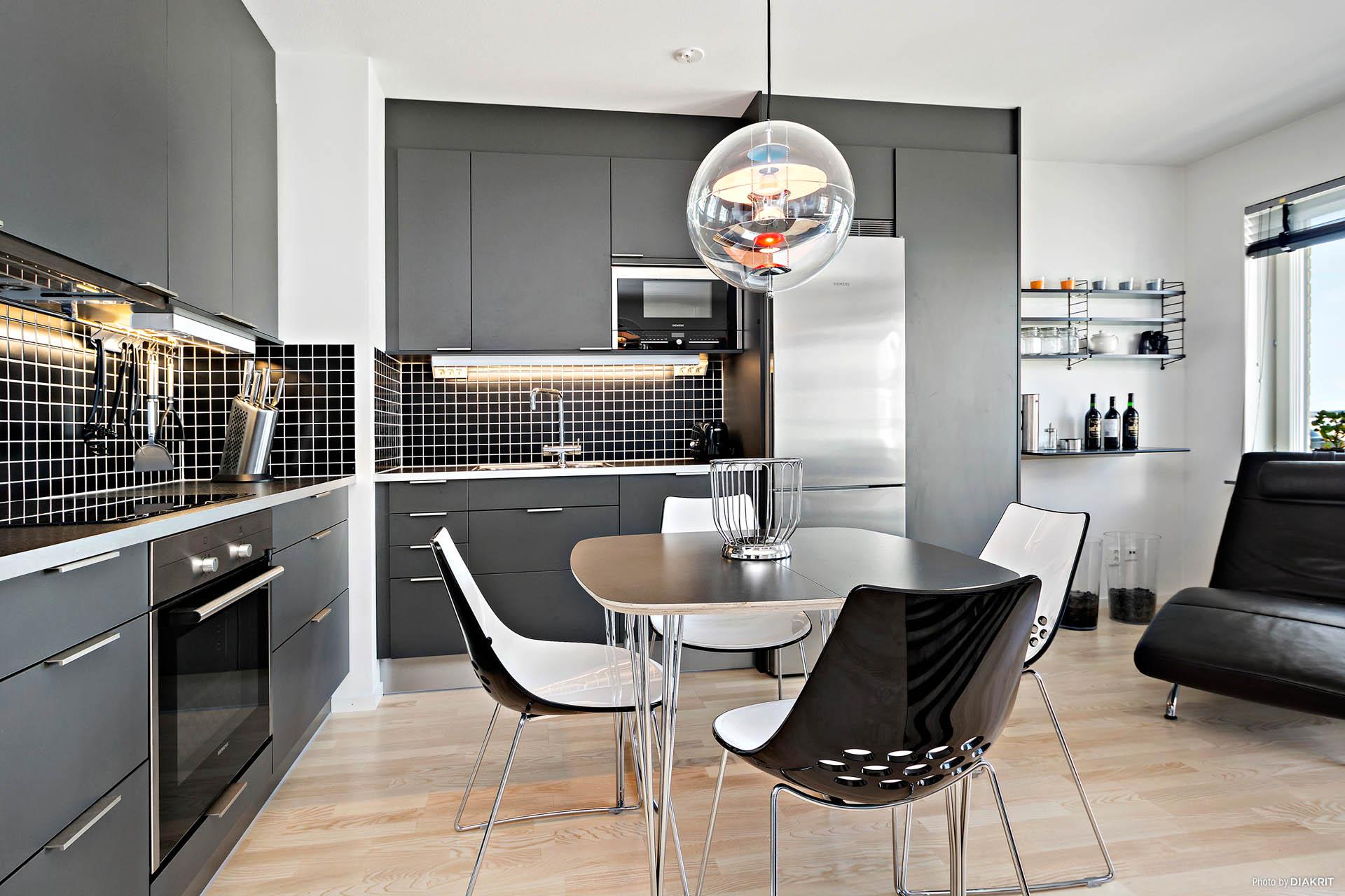 Fullt utrustat kök och hög standard