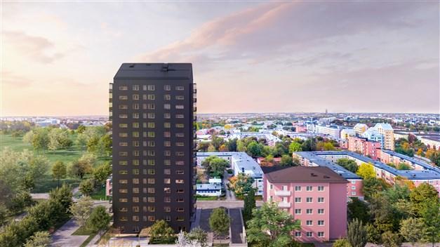 Uppsala View - 16 våningar