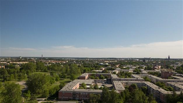 Utsikten från takterrassen