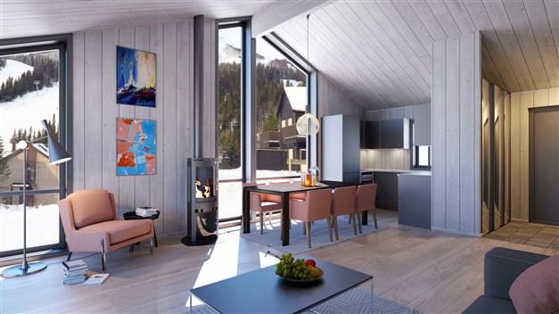 Lägenhet om 65 m²