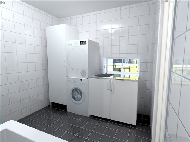 RADHUS - Toalett/Tvätt