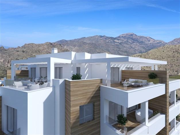 Penthouse - Arkitektens skiss