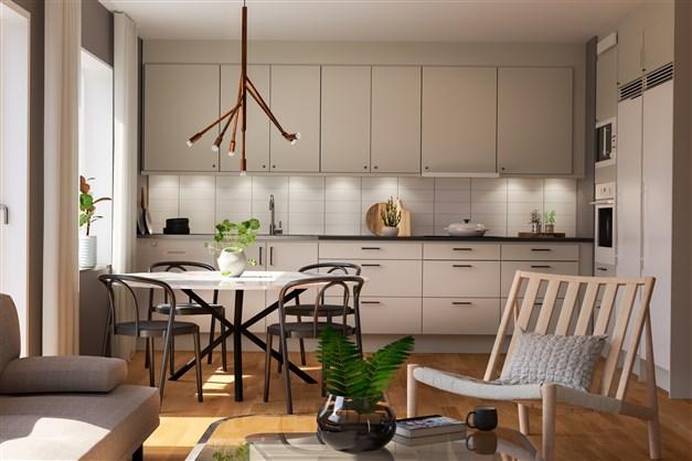 Kök i lägenheter
