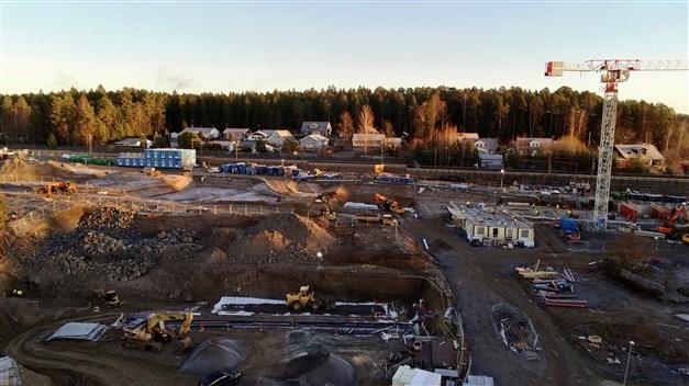 Bygget från november 2020