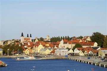 Välkomna till Visby innerstad och Brf. Rådhuset 3