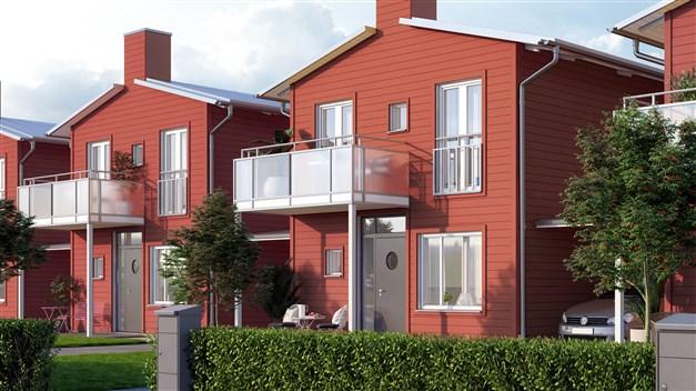 Bo naturnära och lugnt i Kristianstads nya stadsdel! Alla hus får en grön täppa och stenlagda uteplatser i två väderstreck. Villakänslan är påtaglig och ger dig en skön och fri vardag.