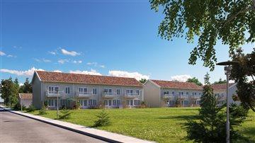 Kvarteret Nyponlunden är ett nytt bostadsområde nordväst om Örebro. Området har en blandad bebyggelse med bostadsrätter, hyresrätter och villor