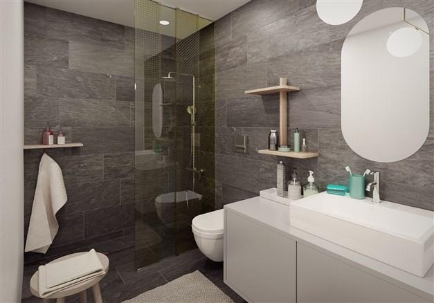 Illustration från badrum i Morgondoppet (motsvarande i Sockergränden)