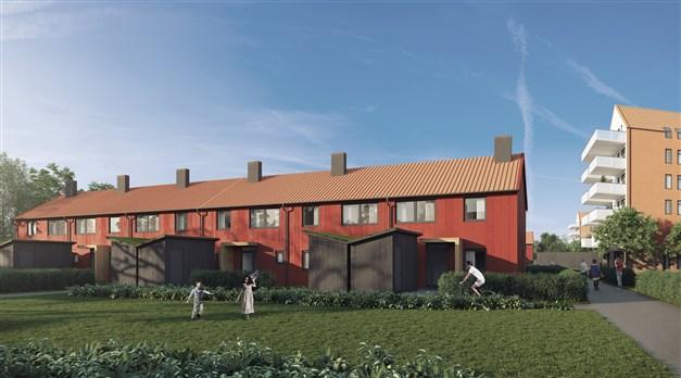 Radhuslänga etapp 1.