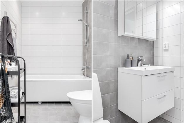 Badrum ov (Observera att bilderna illustrerar ett annat liknande projekt, avvikelser kan förekomma i planlösning utrustning och färg.)