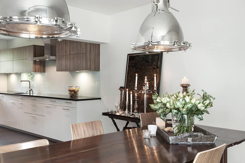 Lampor och belysning i köket